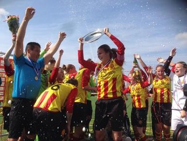 Vrouwen Ter Leede voor achtste keer kampioen