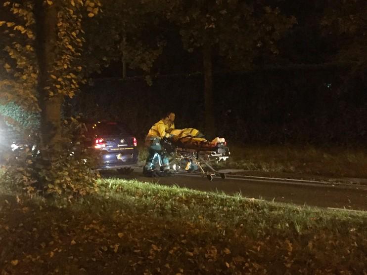 Motorrijder raakt gewond bij eenzijdig ongeval in Wassenaar