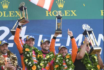 Het mooiste uur van coureur Jeroen Bleekemolen: winst in 24 Uur van Le Mans [video]