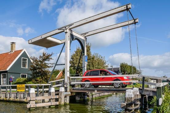 Zaanstad presenteert plan voor smallere brug naar Haaldersbroek