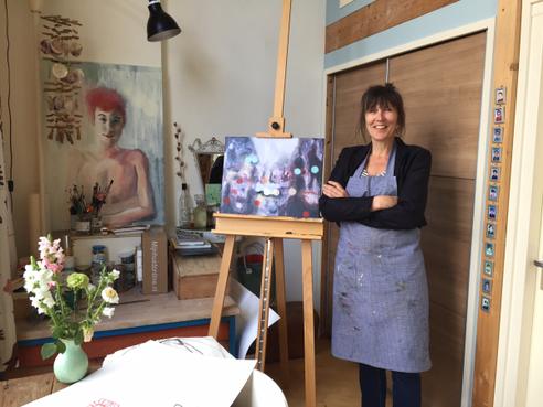 Femke Kok (52) geselecteerd voor de Portretprijs 2017