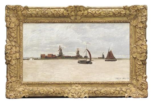 Boottochten 'met Monet' over de Zaan