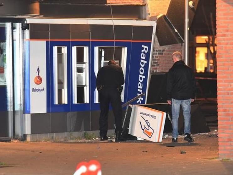 Rabobank Nieuwkoop doelwit plofkraak