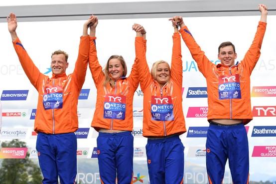 Zwemster Vermeulen pakt met estafette nog een medaille