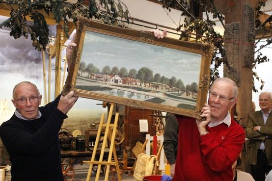 Hoofddorps schilderij hangt voortaan in het museum