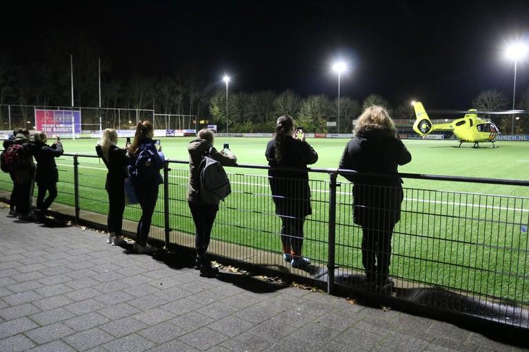 Traumaheli landt op rugbyveld in Sassenheim