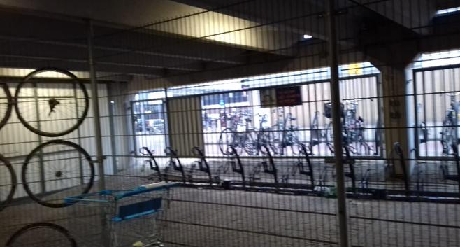 Fietsenstalling Haarlem-Schalkwijk al maanden dicht