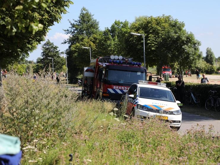Kind met spoed naar ziekenhuis na redding uit Toolenburgplas Hoofddorp