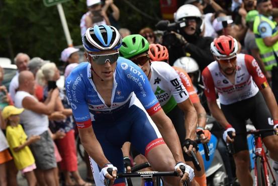 Niki Terpstra geeft op in Tour de France na harde val in elfde etappe