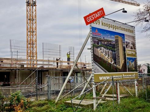 Verkoop in Hoorns complex Toren blijft nog achter