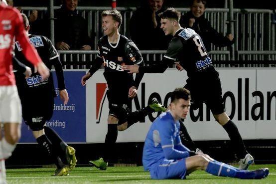 FC Volendam balend weg na wedstrijd tegen Jong AZ [video]