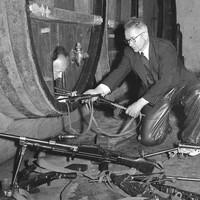 Een ingenieuze wapenopslag van het verzet bij de Wijnfabriek in Hilversum.