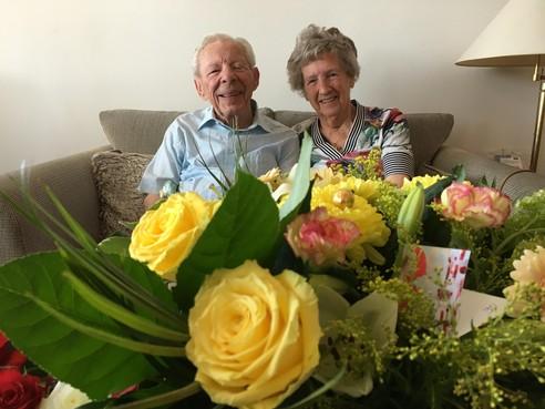 Cor en Tiny uit Hoorn zijn na 65 jaar nog altijd 'dol' op elkaar