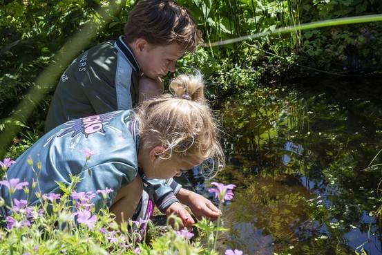 Groene gesprekken en 'coole' waterslakjes tijdens opentuinendagen in Castricum