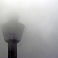De luchtverkeersleiding heeft zo weinig zicht.