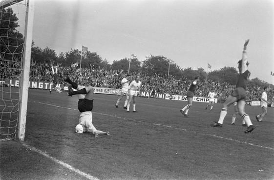 Een halve eeuw geleden promoveerde HFC Haarlem naar de eredivisie