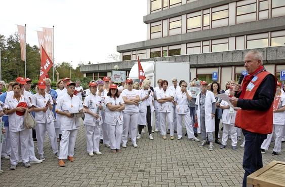 Actievoerend ziekenhuispersoneel Noordwest: kom met ons mee actievoeren