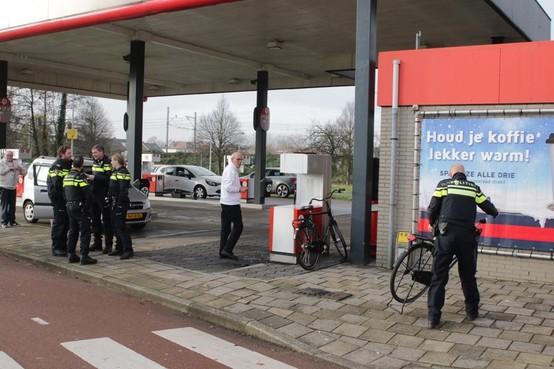 Fietser aangereden bij tankstation in Voorschoten
