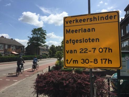 Meerlaan in Hillegom zes zomerweken dicht voor opknapbeurt