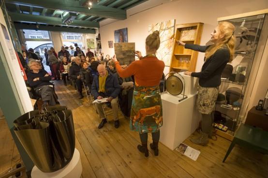 Leidse galerie Zône kan door met €40.000 euro van crowdfundactie