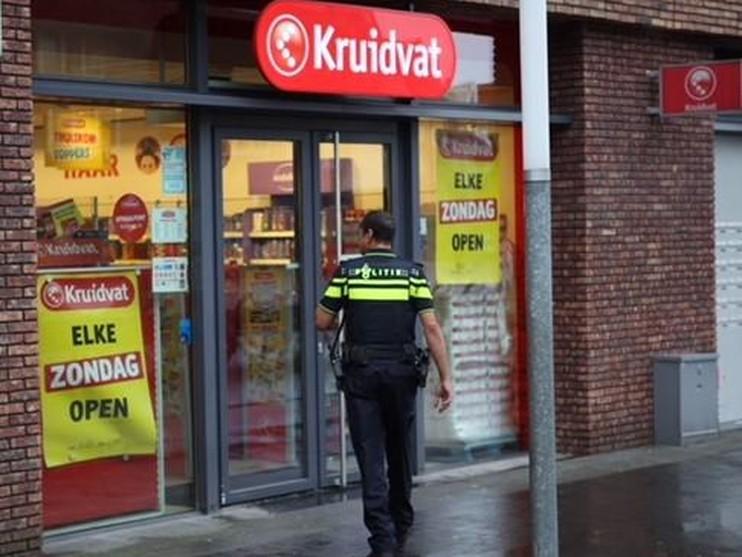 Kruidvat overvallen aan Marsmanplein in Haarlem