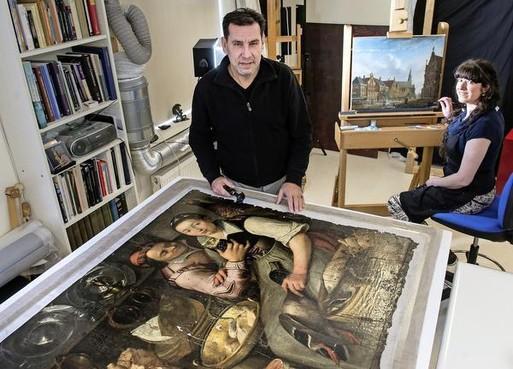 De sporen van lijdensweg roofkunst Westfries Museum verdwijnen