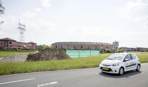 Bewoners Oude Spoorbaan geloven raming verdiepte ligging ringweg in Leiderdorp niet
