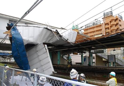 Nog grote overlast in Japan door tyfoon Faxai
