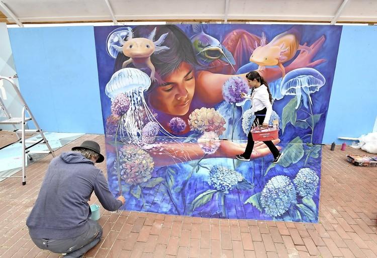 Stadshart Den Helder is weer een groot kunstwerk