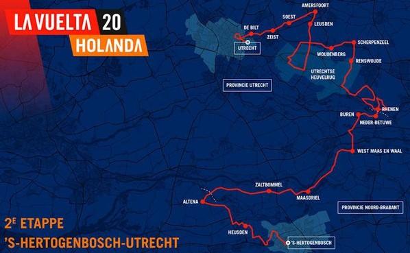 Den Haag betaalt 2,5 miljoen voor de Vuelta van 2020, die ook langs Soest komt