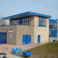 Het reddingsstation aan de Energieweg.