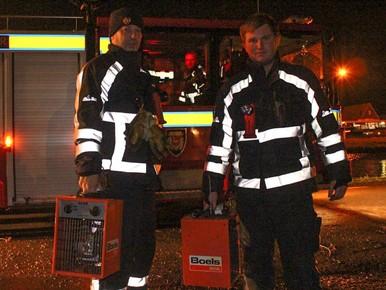 Gaslek in Landsmeer: een kacheltje van de burgemeester