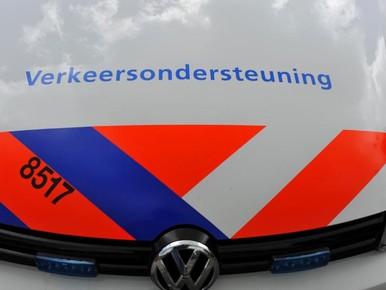 N44 bij Wassenaar dicht door ongeval