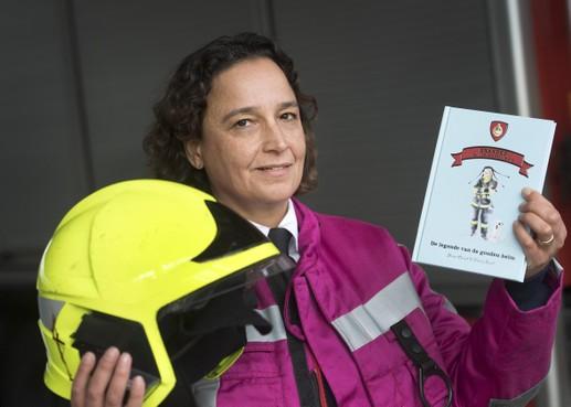 Brandweer: droom van Sharon komt uit