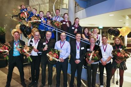 Iedere kampioen heeft eigen verhaal op gala in Beverwijk
