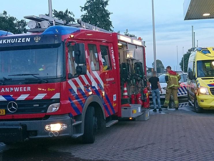 Twee jongens gewond door steekvlam op boot in Enkhuizen