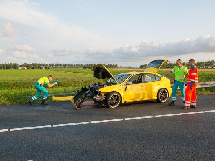 Ernstig ongeluk op A4 bij Nieuw-Vennep
