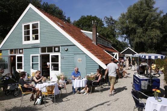 Familiedag bij T&Tuin in Weesp, genieten van de zon