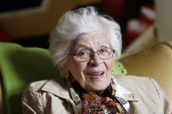 Jeanne Segers uit Hilversum 100 jaar: 'Nooit denken dat jij de belangrijkste bent'
