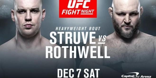 Stefan Struve neemt nog geen afscheid van vechtkooi; Beverwijker komt tijdens UFC-gala in actie tegen Ben Rothwell