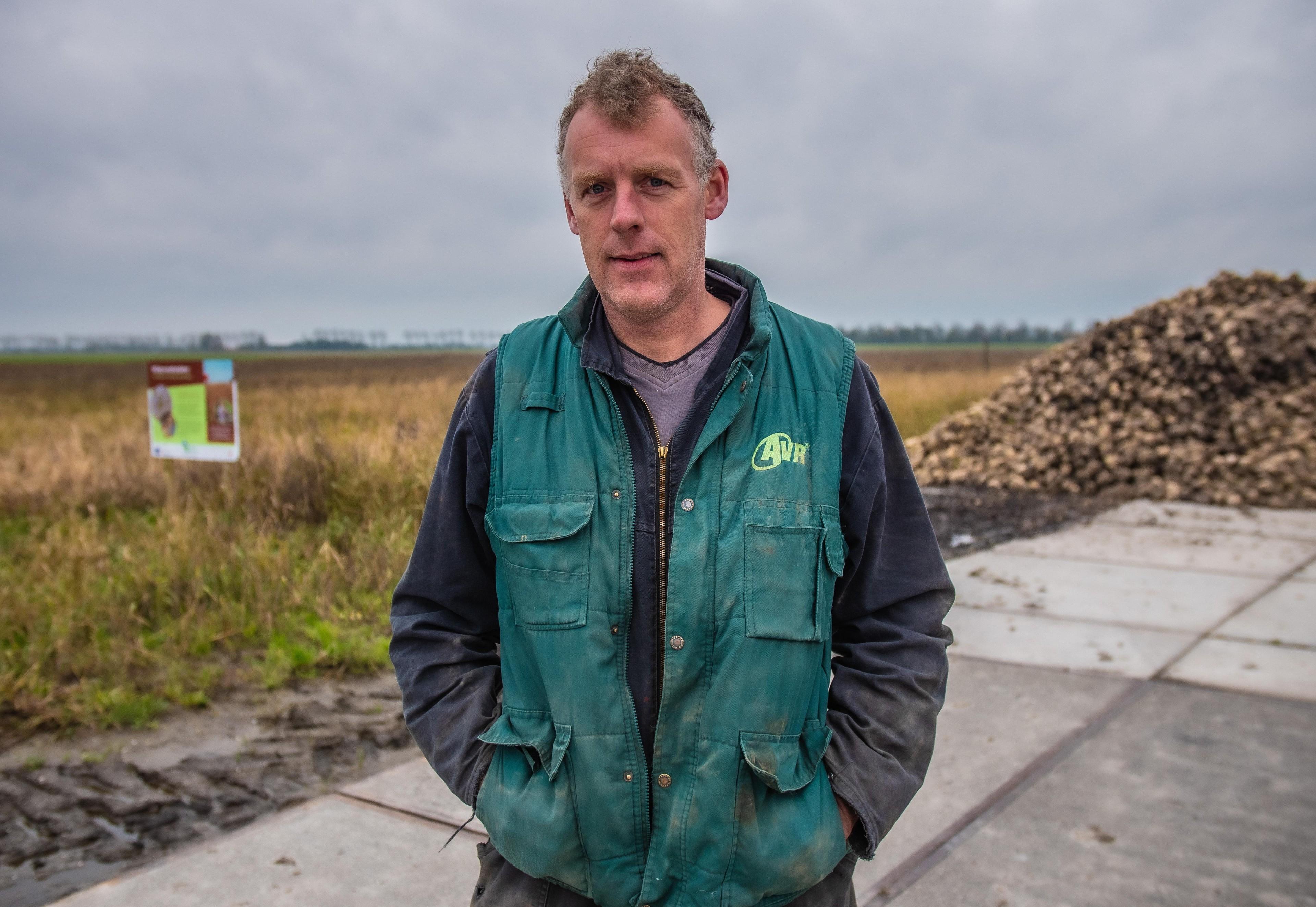 Akkerbouwer Ane van Straten uit Slootdorp gebruikt hectaren van zijn akker om vogels jaarrond te helpen: 'Toch - Noordhollands Dagblad