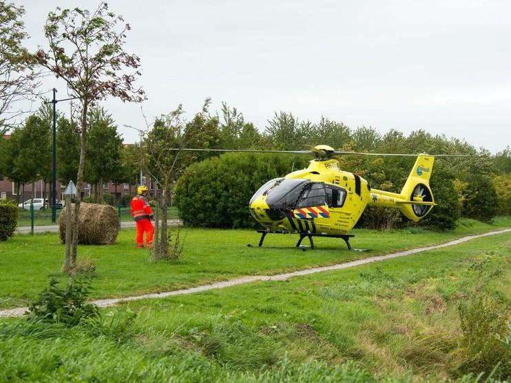Man gereanimeerd na bedrijfsongeval in Nieuw-Vennep