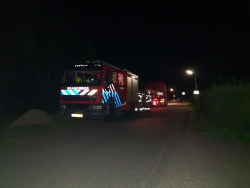 Brandweer rukt groots uit voor brandlucht in duingebied Schoorl