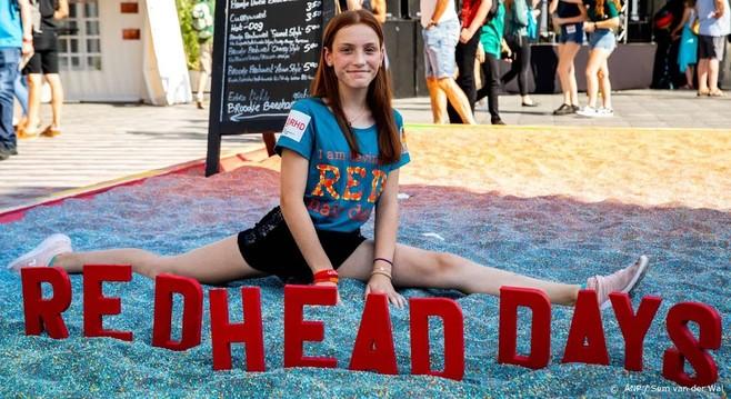 25.000 bezoekers voor Redhead Days in Tilburg