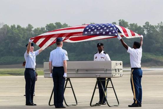 VS stellen identiteit teruggeven lichamen vast