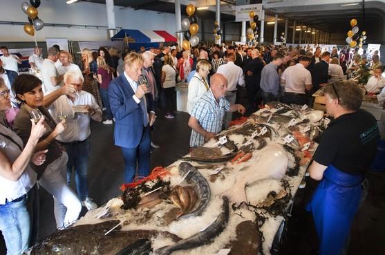 Haringparty in IJmuidense vishal D voelt als een soort reünie