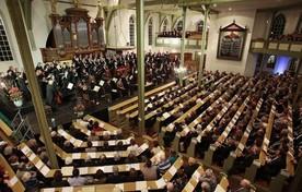 De Matthäus Passion in de Oude Kerk, vorig jaar.
