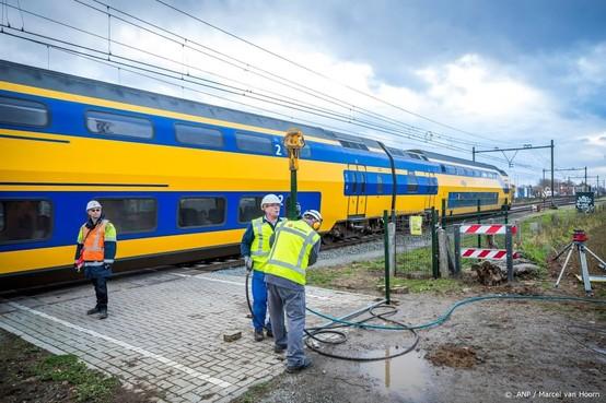 Treinen staan minder vaak stil