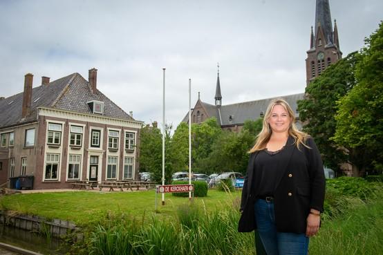 Nieuw leven in Beemster café: Talisa Steenkamp uitbater van de Kerckhaen