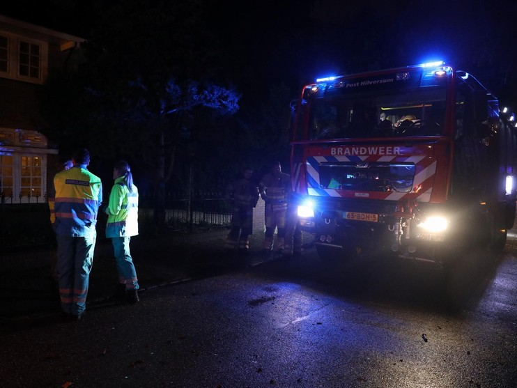 Alerte buurman voorkomt grote brand woonhuis Hilversum
